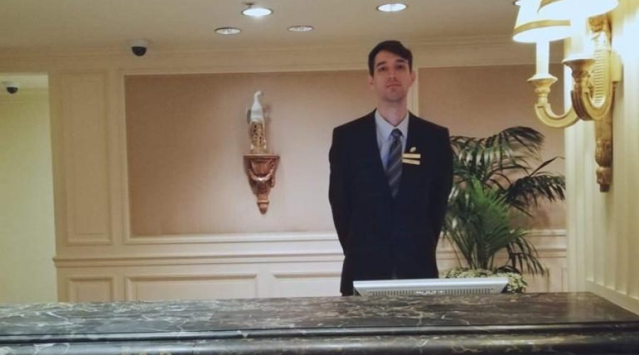Bogdan Stojanic – Front desk agent @ Hotel Monteleone (New Orleans , LA)